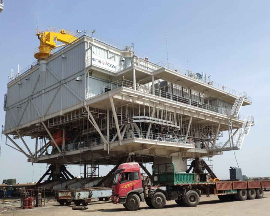 Safety monitoring project during transportation and hoisting of Shenzhen Bay China Guangdong Nuclear Power Station